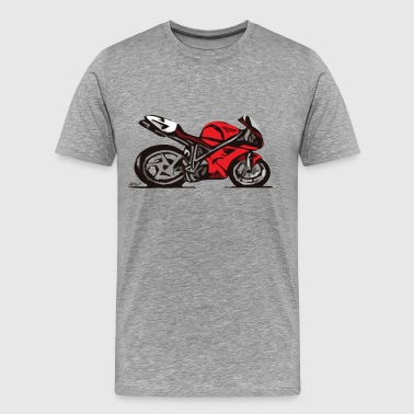 Superbike comic-style - Men's Premium T-Shirt