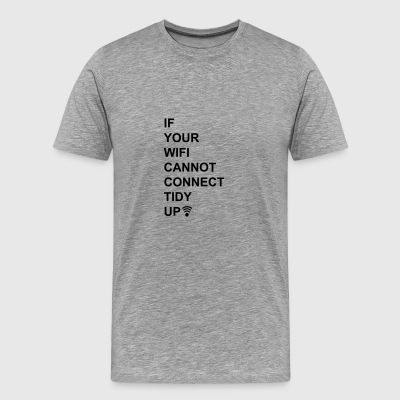 6061912 127156505 Wireless internet - Men's Premium T-Shirt