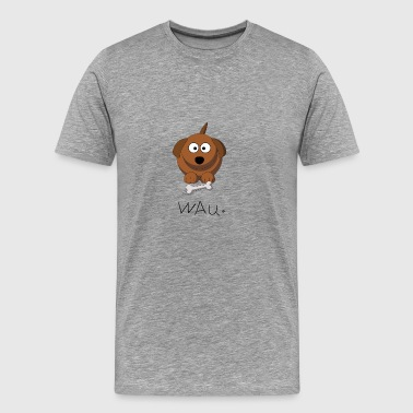 Wau. - Men's Premium T-Shirt