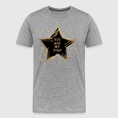 you are my star - Männer Premium T-Shirt