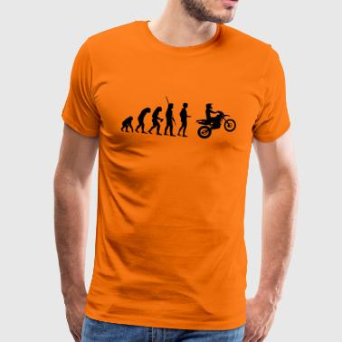 Evolution Enduro - Premium-T-shirt herr