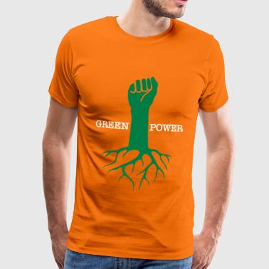 GREEN POWER - T-shirt Premium Homme