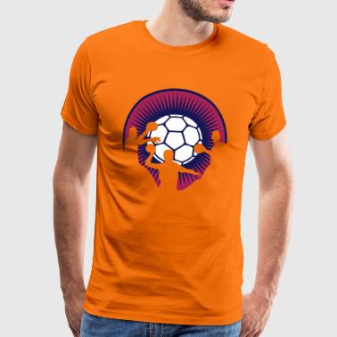 HANDBALL Aura - Men's Premium T-Shirt