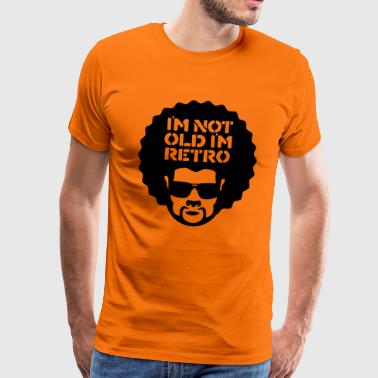 im not old im retro - Mannen Premium T-shirt