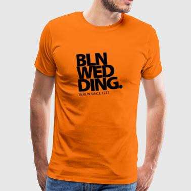 Berlin Wedding - Männer Premium T-Shirt