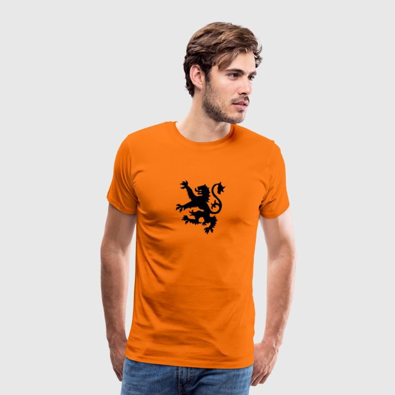 Holland Dutch Lion - Mannen Premium T-shirt