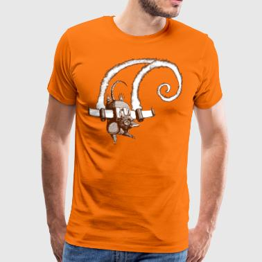 armadillo flight Sepia - T-shirt Premium Homme