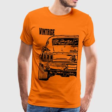 Part car service collection black 2 - Men's Premium T-Shirt