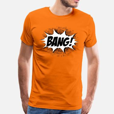 Kaboom Comic Bang! Boom, Kaboom, Superhero, Quotes - T-shirt Premium Homme