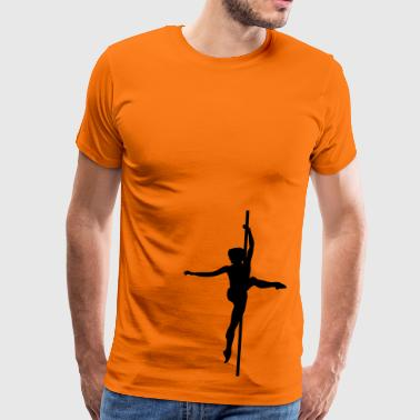 Pole - Dance - Mannen Premium T-shirt