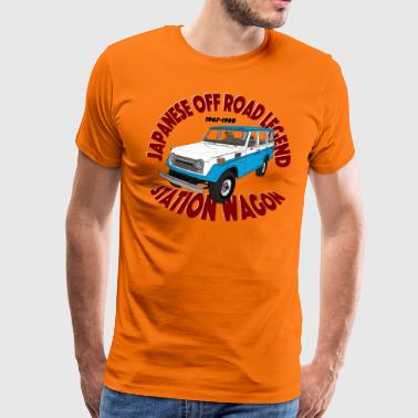 Off Road Legend Blue / White - Camiseta premium hombre