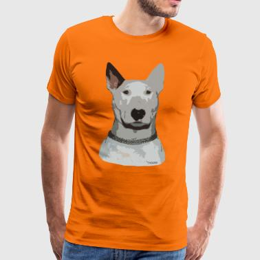 English Standard Bull Terrier Ted - Men's Premium T-Shirt