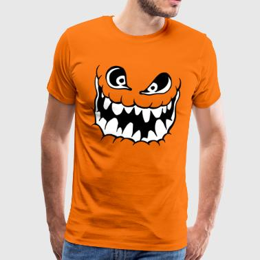 Halloween shirt grotesque - Men's Premium T-Shirt