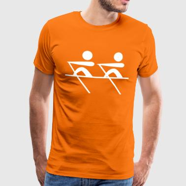 rowing os - Men's Premium T-Shirt