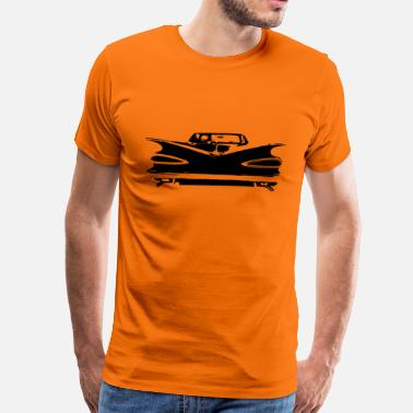 Chevy Impala Impala rear T-Shirts - Men's Premium T-Shirt