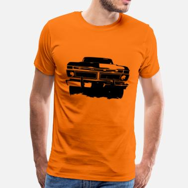 Bigfoot F150 - Premium-T-shirt herr