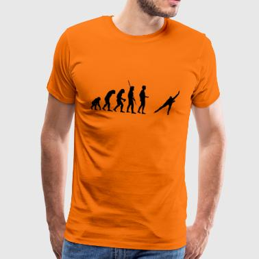 evolution Skating - Premium-T-shirt herr