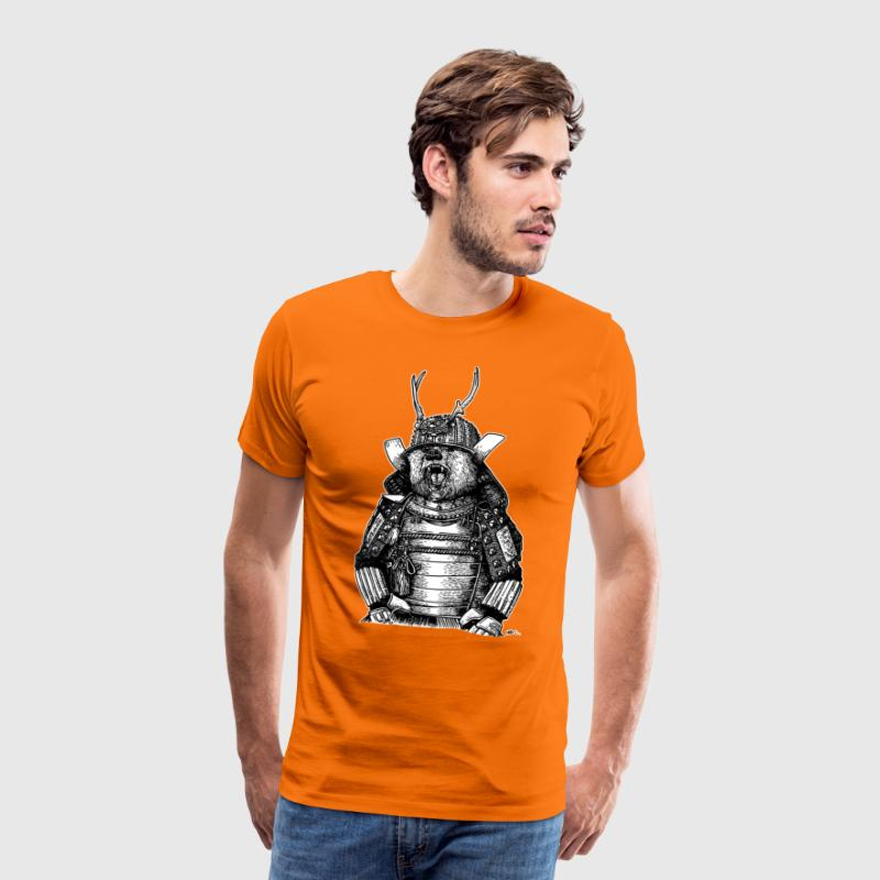SAMOURAI BEAR - Men's Premium T-Shirt