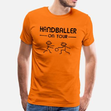 Baller Handbal - handbal On Tour - Mannen Premium T-shirt