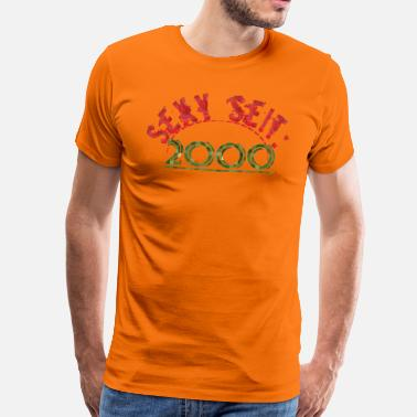 Sexy Word Sexy since 2000 - Men's Premium T-Shirt