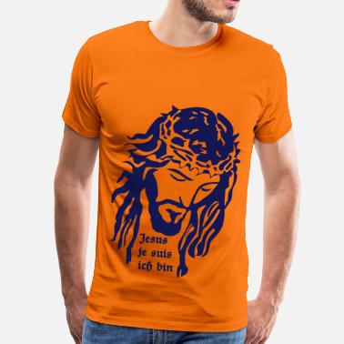 Jesus Face Jesus - Men's Premium T-Shirt