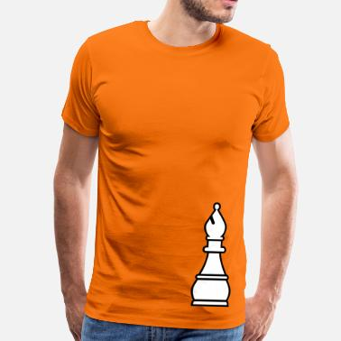 Bishop chess bishop - Men's Premium T-Shirt
