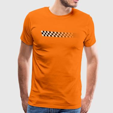 racing stripe - Men's Premium T-Shirt