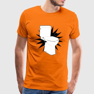 Vector WC (WC Super) - Männer Premium T-Shirt
