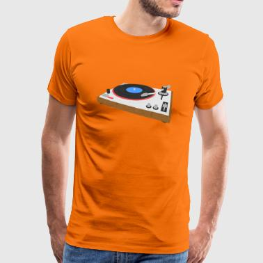 Turntable turntable - Men's Premium T-Shirt