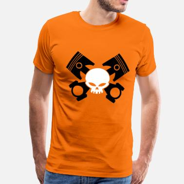 V-twin v-twin skull - Men's Premium T-Shirt