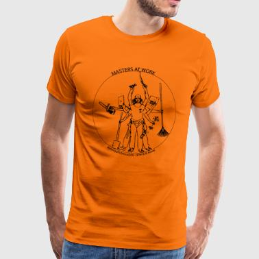 Tree vinci - Men's Premium T-Shirt