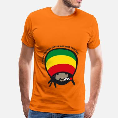 Chillig if you are a Rastaman - Männer Premium T-Shirt