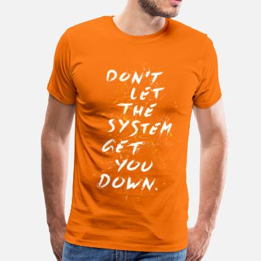 System Critic - Men's Premium T-Shirt