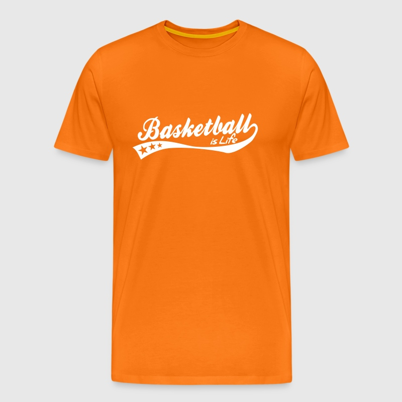 basketball is life - retro - T-shirt Premium Homme