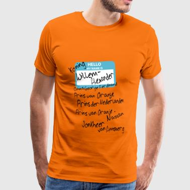 My name is ... - Mannen Premium T-shirt