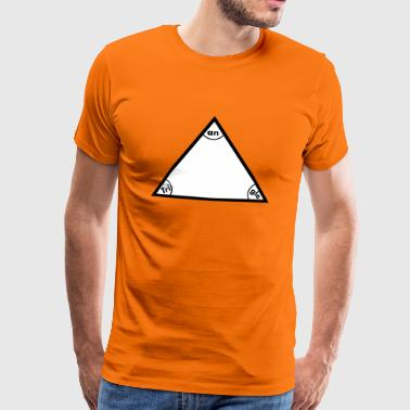 triangle - T-shirt Premium Homme