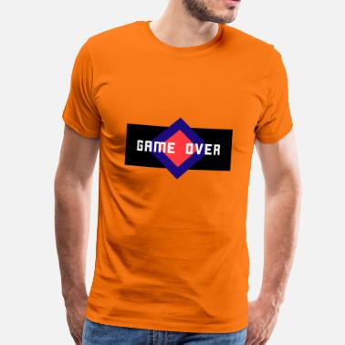 Udlært game Over - Herre premium T-shirt
