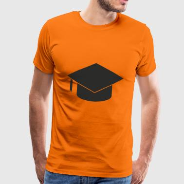 University of Applied Sciences graduation hat undergraduate - Men's Premium T-Shirt
