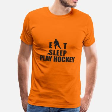 Eat Sleep Play Hockey EAT SLEEP PLAY HOCKEY - Men's Premium T-Shirt