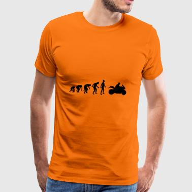 Machine de course Evolution Motorcyclist - T-shirt Premium Homme