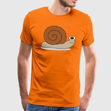 Lame snail - Men's Premium T-Shirt