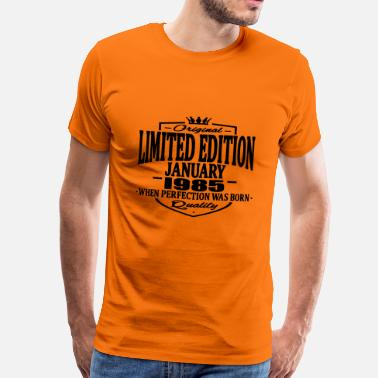 1985 Limited Edition Limited edition january 1985 - Men's Premium T-Shirt