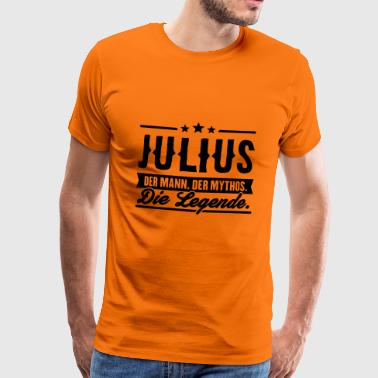 Man Myth Legend Julius - T-shirt Premium Homme