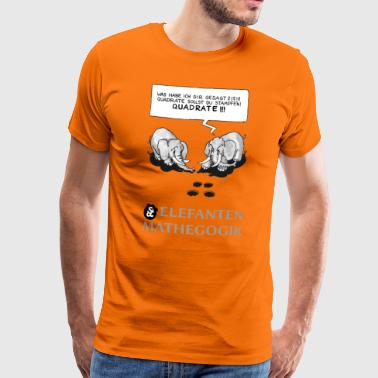 ELEPHANT MATE HEGOGRAM (1): QUADRATOSTAMP (1) [GS] - Men's Premium T-Shirt
