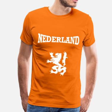 Holland Nederland + Lion - Men's Premium T-Shirt