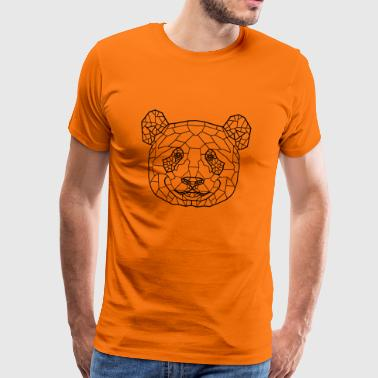 Panda Line Art - Men's Premium T-Shirt