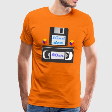 Child of the 80s - Men's Premium T-Shirt