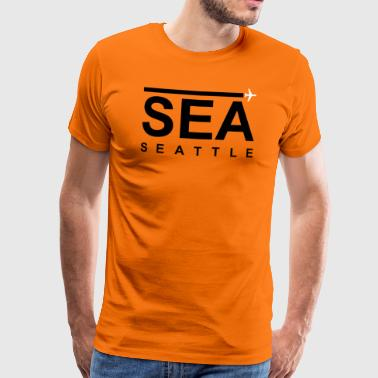 SEA Black - Männer Premium T-Shirt
