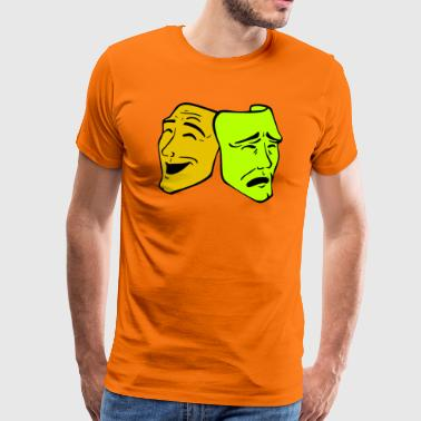 Masks motif - Men's Premium T-Shirt
