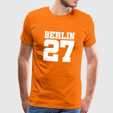 Berlin 27 - Gift idea - Men's Premium T-Shirt